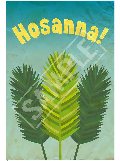 Hosanna printable poster