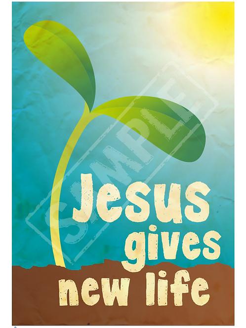 New life printable poster