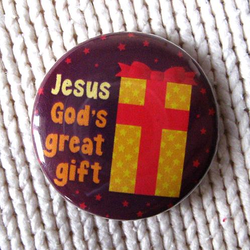 Christmas pin badge - Gift