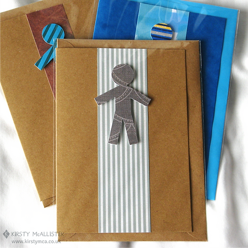 Man handmade greeting card (assorted)
