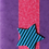 Thumbnail: Star handmade greeting card (assorted)