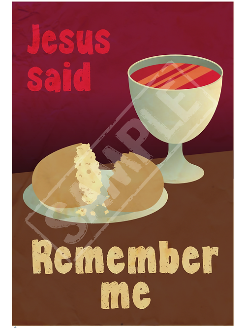 Remember me printable poster