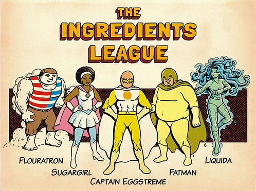 Ingredients League posters
