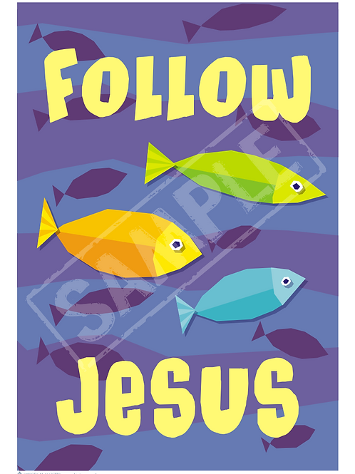 Fish printable poster