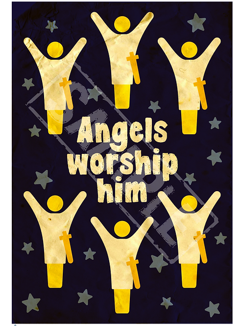 Angels printable poster