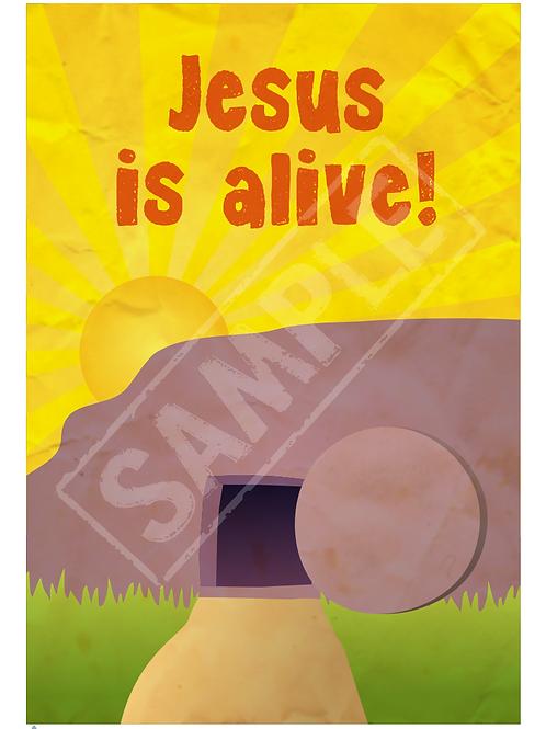 Empty tomb printable poster
