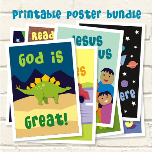 Printable poster bundle