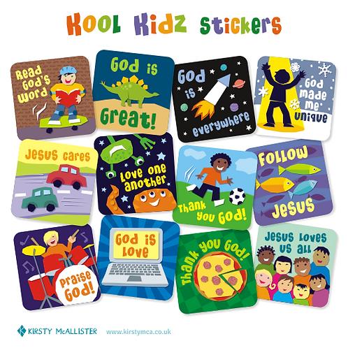 Kool Kidz stickers