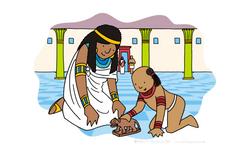 Moses and Pharaoh's daughter