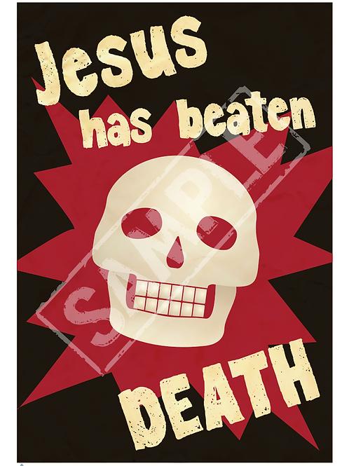 Skull printable poster
