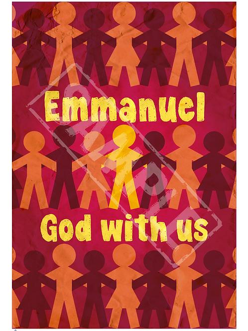 Emmanuel printable poster