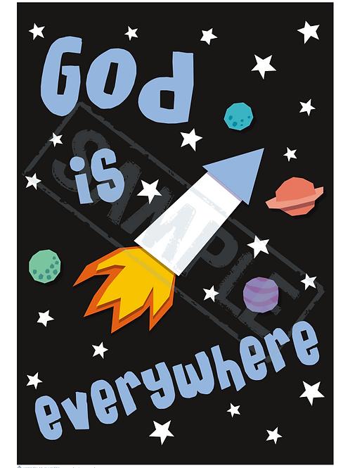 Rocket printable poster