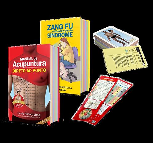 COMBO 4: Manual Clás. 5ªed. + Zang Fu + Cartas 101 Melhores Pontos + Supertabela