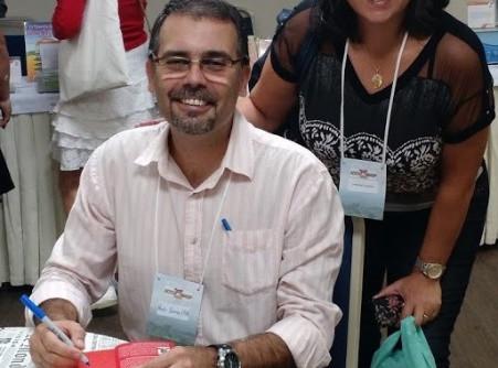 Autografo no Workshop da Accushop - Vale do Paraíba - SP