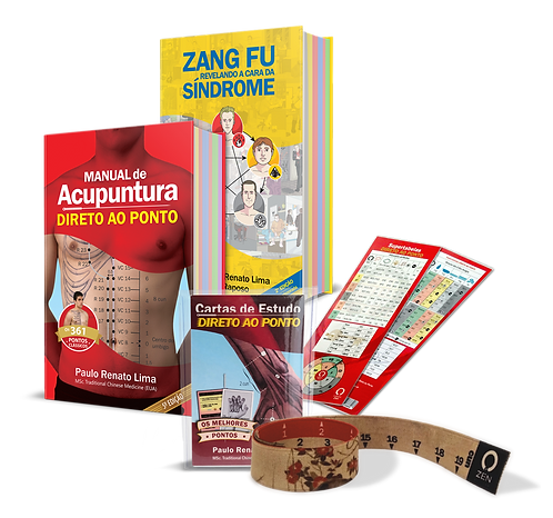 COMBO 5: Manual 5ªed+ Zang Fu 2ªed+ Cartas de Estudo+ Cunnômetro+ Supertabela