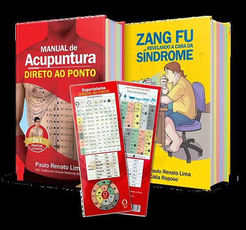 COMBO 2: Manual de Acupuntura Clássico 5ªed. + Zang Fu  + Supertabela