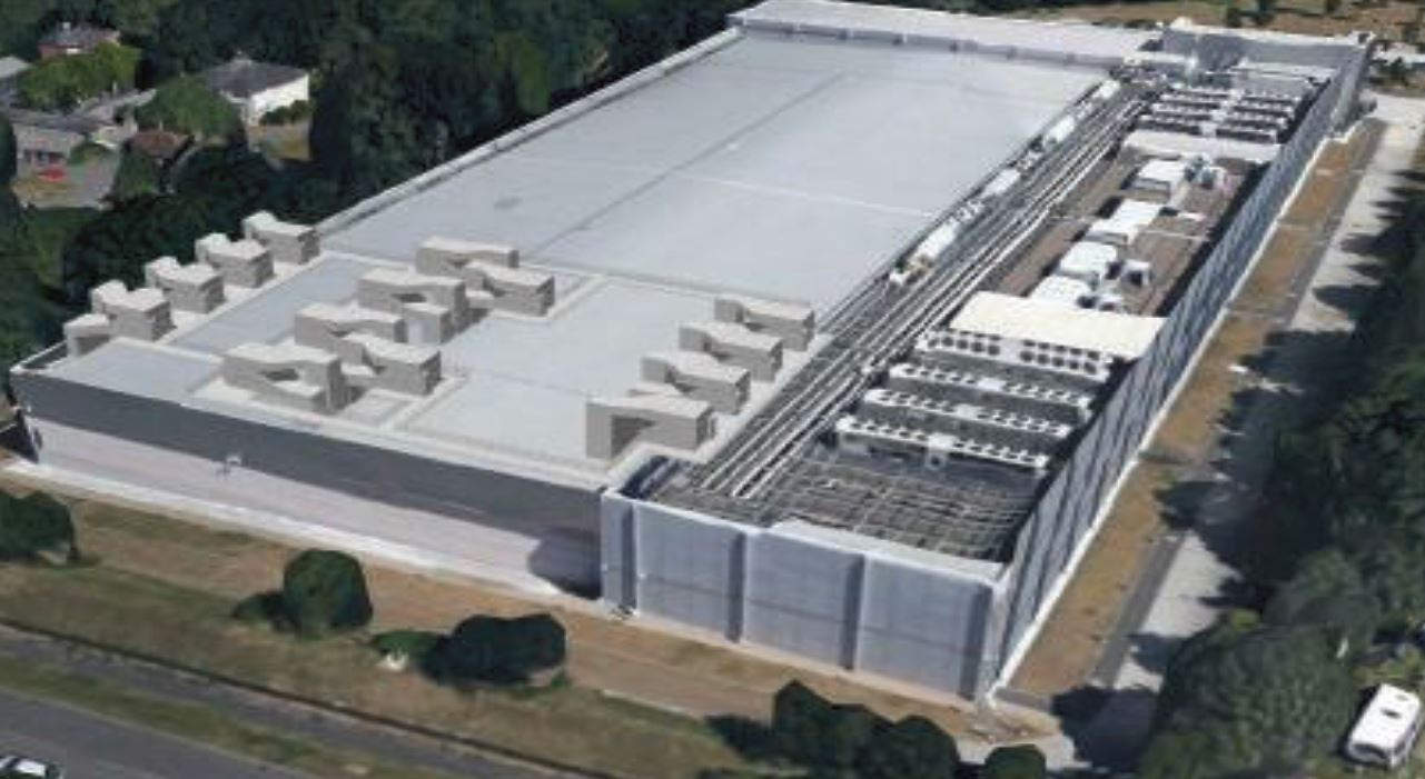 JPMC Data Centre Basingstoke