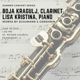 Summer Concert Series at St. Peter's Church, Sundays 1:00PM