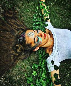Forest Fairy 🌲🌲🌲🌲 _sophiepourretwythe #fairy #forest #glitter #girly #chunkyglitter #festival #f