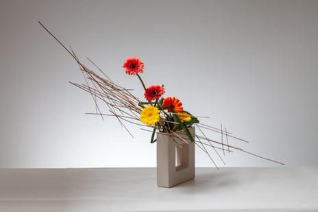 7. Ikebana arrangement by Louise Worner