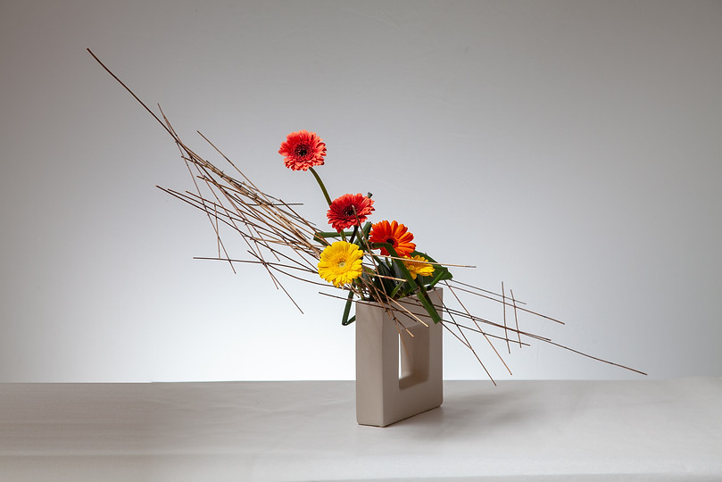 7. Ikebana arrangement by Louise Worner