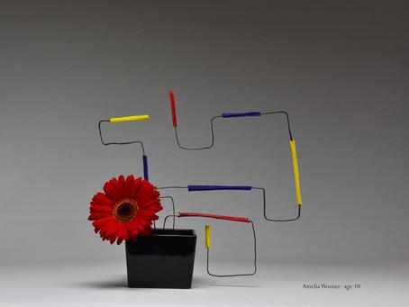 Mondrian and Ikebana for Children