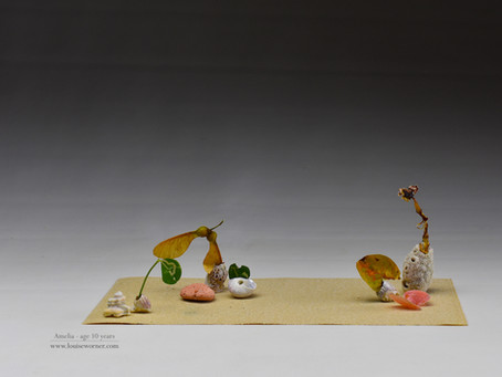 Seashell Miniature Ikebana for Children