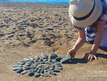Land Art and Ikebana for Children