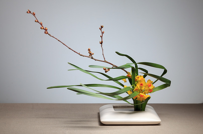 8.  Ikebana arrangement by Louise Worner