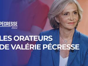 Présidentielle 2022 : les orateurs de la campagne de Valérie Pécresse