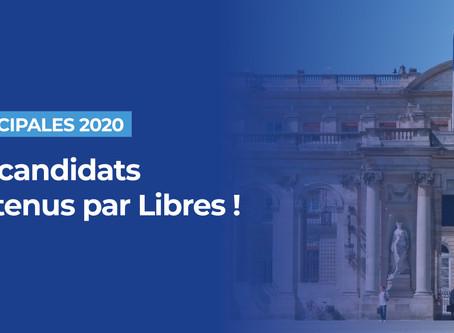 65 nouveaux candidats soutenus par Libres ! aux municipales