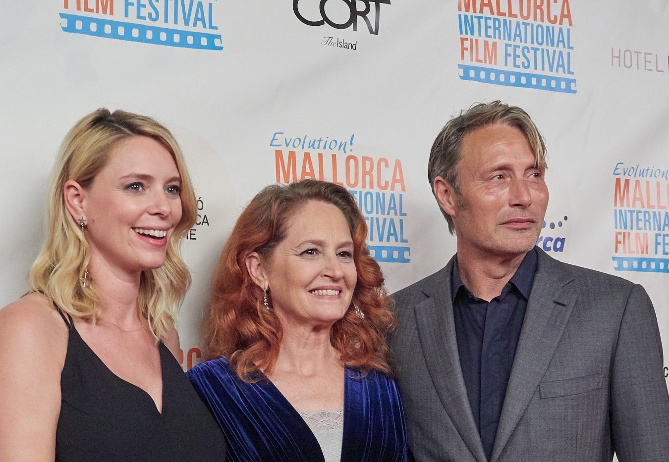 Festival Founder with Melissa Leo and Mads Mikkelsen