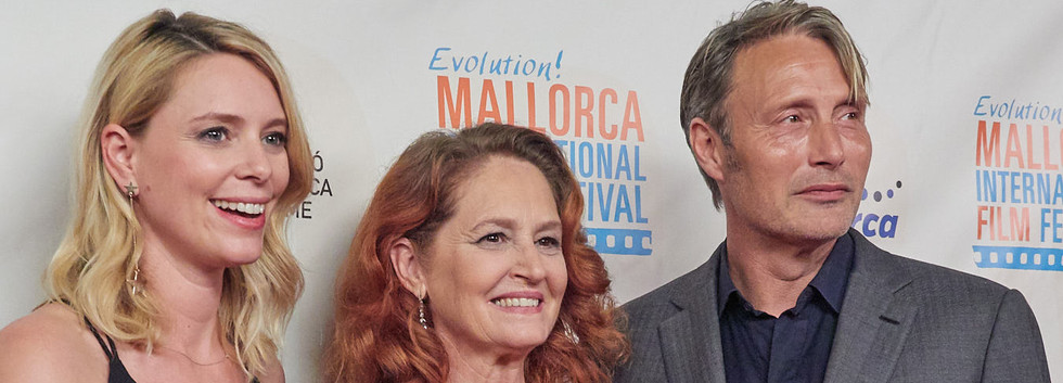 Festival Founder with Melissa Leo and Mads Mikkelsen