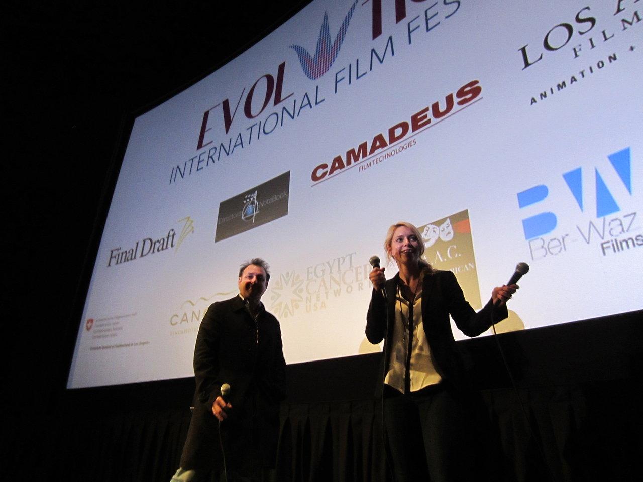 Diretor Richard Reens (left)