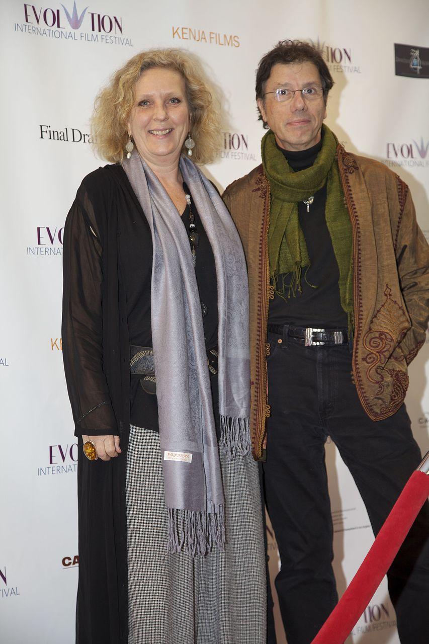 Actress Cecilia de Rico (left)