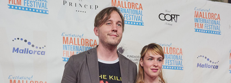 Director Philipp Eichholz and actress