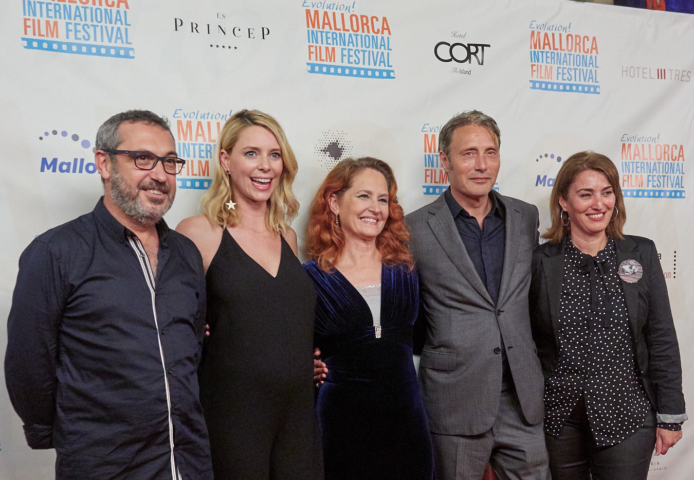 Mallroca officials with EMIFF guests