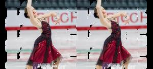 Canadian skater Ellie Fisher loves ice dance