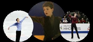 Tim Koleto as a young figure skater