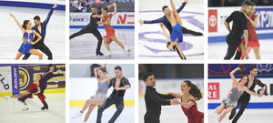 Lewis Gibson and Lilah Fear ice dancing for Team Great Britain