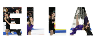 Ella Ales skating with Daniel Tsarik at the 2019 US National Championships