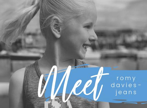Meet Romy Davies-Jeans