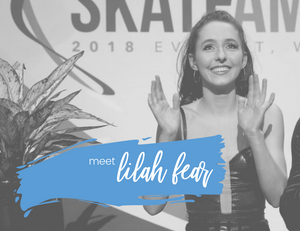 British ice dancer Lilah Fear's interview with Edges of Glory