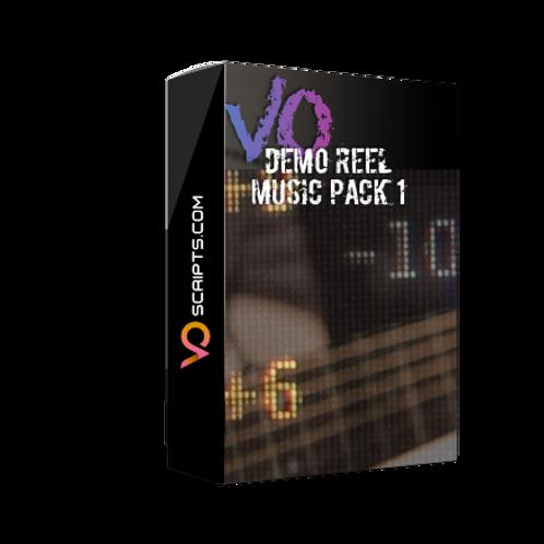 VO Demo Reel Music Pack 1