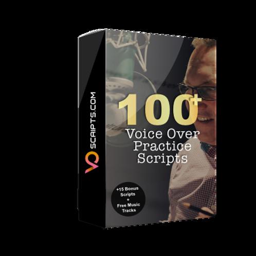 100+ Voiceover Practice Scripts with Bonus Material