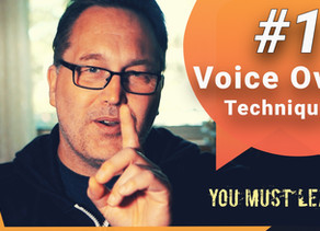 #1 Technique Every Voice Over Actor MUST Master!
