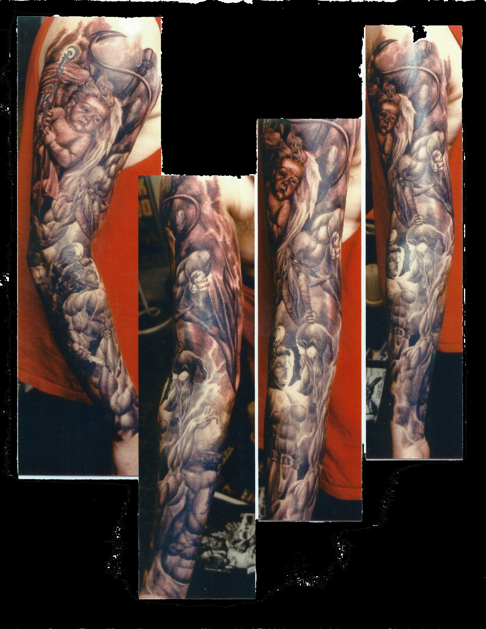 cherub sleeve