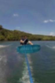 Zen Times Ten ambassador Paul Pearce sendin it for this wakeboarding pictue