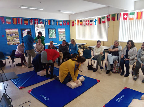 Teachers first Aid Training Class in Cork and Munster
