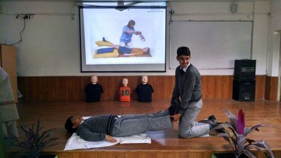 transition year first aid training in Cork Ireland